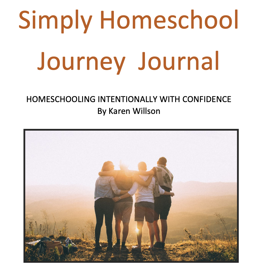 FREE! Simply Homeschool Journey Journal