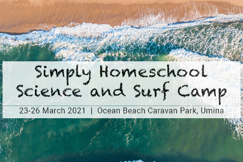 Simply Homeschool Science and Surf Camp